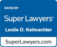Super Lawyers Leslie D. Kelmachter Badge