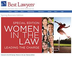 Best Lawyers, Women in the Law