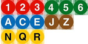 subway icons